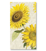 Paper Hand Towels Sunflower 30 Pc