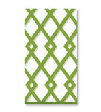 Paper Hand Towels Trellis Green 15 Pc