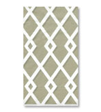 Paper Hand Towels Trellis Grey 30 Pc