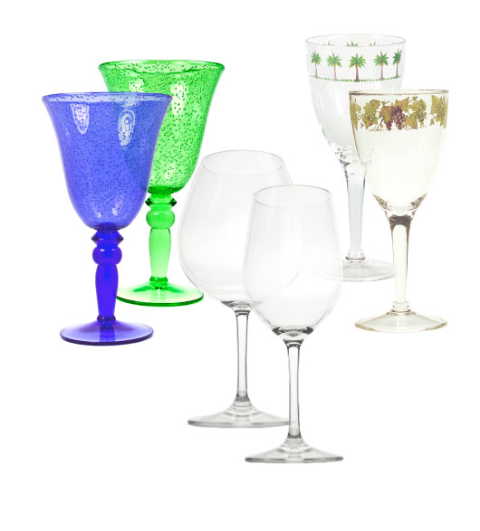 Decorative Wine Glasses For Party Decorations