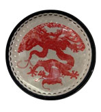 Desk Decor Paperweight Dome Dragon