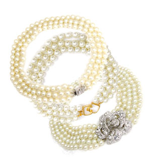 Kenneth Jay Lane Pearl Necklaces
