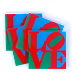 Fun Coasters Set 4 LOVE