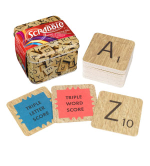 fun scrabble coasters