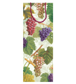 Gift Wrap Wine Bags Grapes Arbor 4 Pc