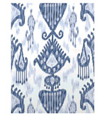 Ikat Blue/White Swatch