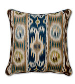 Ikat Pillow Blue & Violet