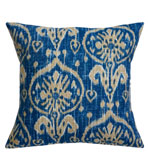 Ikat Pillow Blue