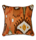 Ikat Pillow Cinnamon