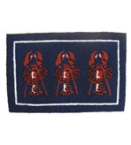 2x3 Lobster Indoor Outdoor Rug