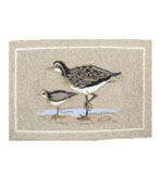 2x3 Shore Birds Indoor Outdoor Rug