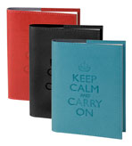 Keep Calm and Carry On Blank Book