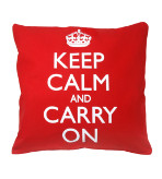 Keep Calm Decorative Throw Pillows