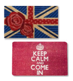 Keep Calm and Carry On Doormats