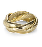 Kenneth Jay Lane Bracelets Gold  Twist