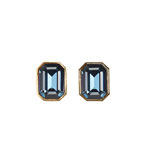 Earrings Clip On Sapphire