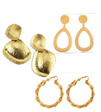 Kenneth Jay Lane Earrings Gold