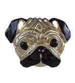 Kenneth Jay Lane Jewelry Brooches Pug
