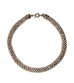 """Kenneth Jay Lane Necklace Crystal Rope 16"""""""