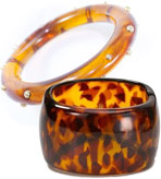 Kenneth Jay Lane Tortoise Shell Bracelet