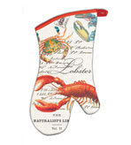 Kitchen Oven Mitts Lobster Set of 2