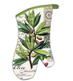 Kitchen Oven Mitts Olive Grove Set of 2