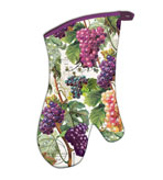 Kitchen Oven Mitts Vineyard Set of 2