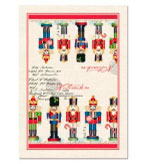 Kitchen Tea Towels Nutcracker