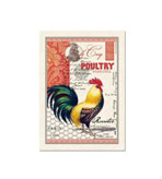 Kitchen Tea Towel Rooster