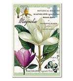Kitchen Tea Towel Magnolia