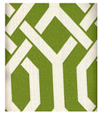 Outdoor Fabrics Geometric Green
