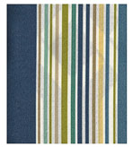 Outdoor Fabric Striped Navy