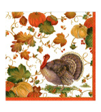 Paper Dinner Napkin Autumn 40 Pc