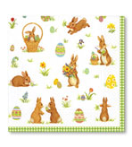 Cottontails Lunch Napkin 20 Count