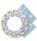 Paper Plates and Napkins Daisy