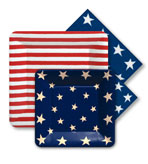 Paper Plates and Napkins Flag