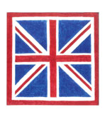 40 Napkins Luncheon Union Jack