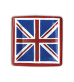 16 Plates Salad Union Jack