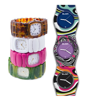 plastic womens watch
