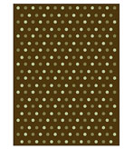 Plush Throw Polka Dots