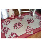 2x3 Coral Poly Rug
