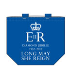 Queens Jubilee Tote Blue