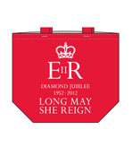 Queens Jubilee Tote Red