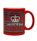 English Tea Party Plaid Mug