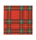 Royal Plaid Luncheon Napkins 40 Count