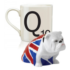 Scrabble Mug Q
