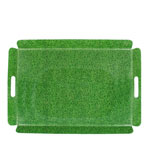 shagreen tray green