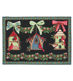 Small Kitchen Rug 30x46 Inch Bird Houses
