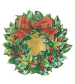Round Placemats Holly