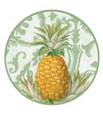 Round Placemats Pineapple